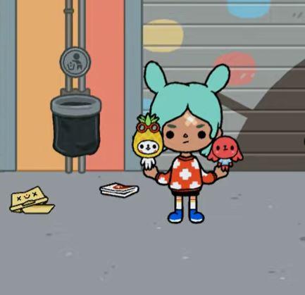 Крампеты персонажа Рита в Тока Бока