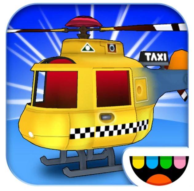 Первое приложение Тока Бока - Helicopter Taxi